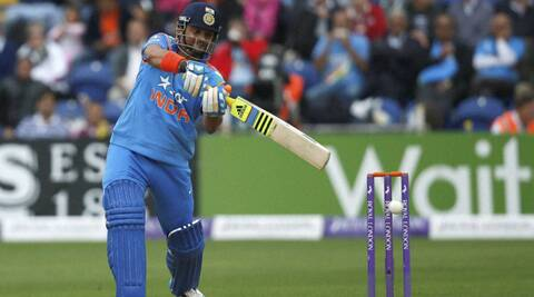 Suresh Raina smashed his fourth ton - first outside the subcontinent - in the second ODI against England in Cardiff on Wednesday (Source: AP)