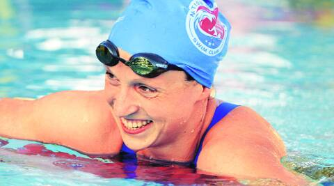 Ledecky set her second world record in as many days — and the seventh since last year's world titles — by clocking 15 minutes, 28.36 seconds, to notch her fifth gold of the meet. (Source: File photo)