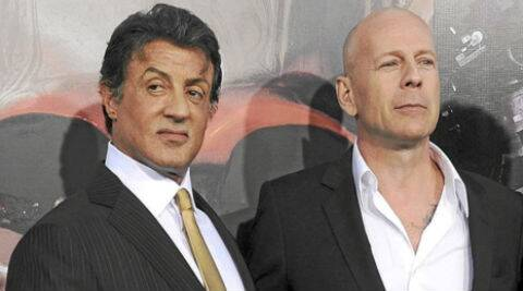 Sylvester Stallone said that Bruce Willis' refusal to be in the film has not caused any personal animosity between them. (Source: Reuters)