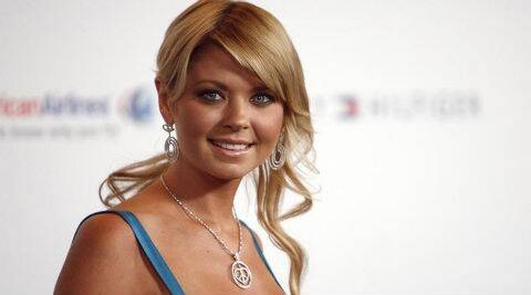 Tara Reid's perfume is named 'Shark by Tara'. (Source: Reuters)