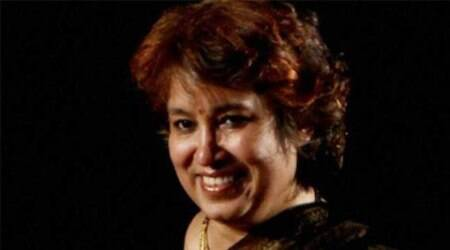 NGO takes Taslima Nasrin to US for 'safety'