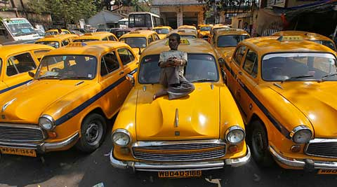 About 37,000 taxi drivers would participate in the meeting and would not be able to take their cabs out. (Source: Reuters photo)