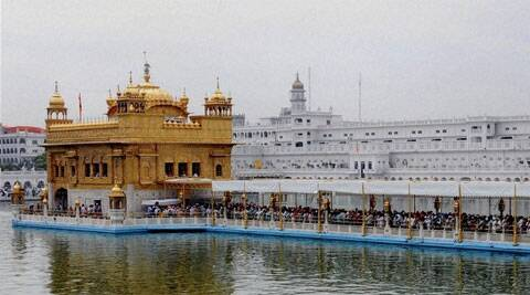The Golden Temple in Amritsar. (Source: PTI)