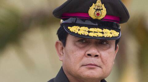 The 60-year-old leader  Gen. Prayuth Chan-ocha is due to retire from the army next month but until then he can hold both positions. (Source: AP)