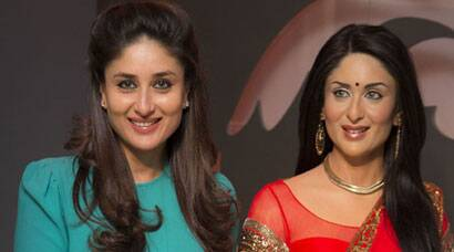 PHOTOS:  Waxed! When Kareena met herself at Madame Tussauds