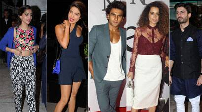 PHOTOS:  Priyanka, Rani, Ranveer, Sonam: Best Dressed for the week