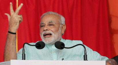 Narendra Modi inaugurates Power Grid in Ranchi
