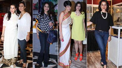 PHOTOS: Kajol, Tanisha, Mandira step out for a cause