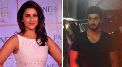 PHOTOS: 'Ishaqzaade'  Arjun, Parineeti in black and white