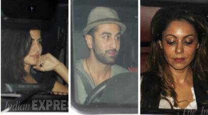 Ranbir, Katrina party with Gauri Khan