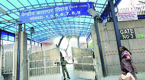 Suspect is now lodged in general ward of Tihar jail. (Source: Express archives)