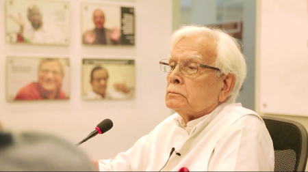 Colleagues in the Foreign Service kept saying 'Volcker, Natwar Singh'. Why don't they mention the Congress?