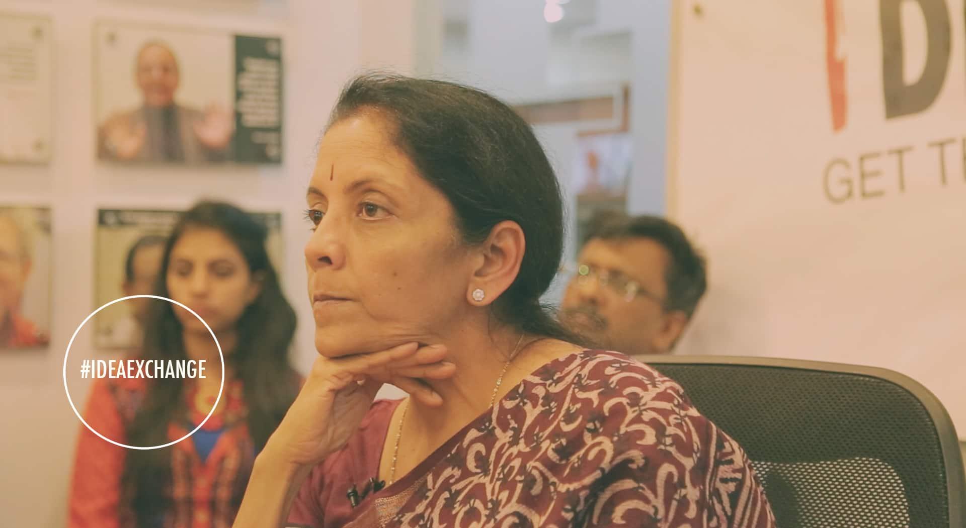 Nirmala Sitharaman on Narendra Modi's workingstyle