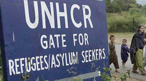 The UNHCR said at least 88 Pakistanis have been sent home since August 1. (Source: Reuters)