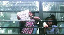 CSAT row: Aspirants unhappy with 'relief', continue protests
