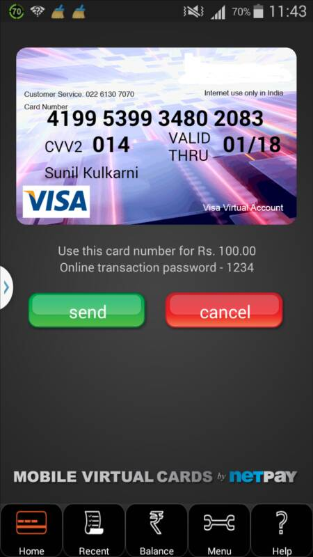 oxigen virtual visa card
