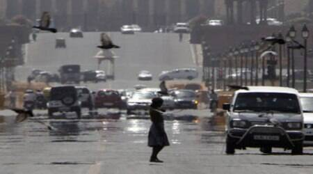 The minimum temperature settled three notches above the season's average at 23.7. ( File photo )