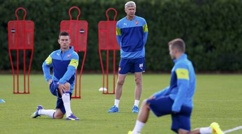 Wenger has a few defensive headaches before the first leg of play-off fixture in Turkey (Source: Reuters)