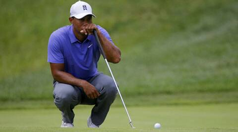 Woods finished on six-over 148 for 36 holes on Friday, five back of the projected cut. (Source: Reuters)