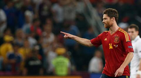 Alonso scored 16 goals for Spain but that statistic does not do justice to his contribution to their success. (Source: Reuters)