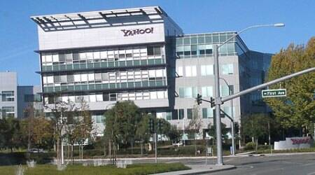 Yahoo Headquarters in Sunnywale, California.