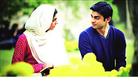 Sanam Saeed and Fawad Khan
