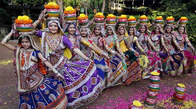 Happy Navratri: Nine days of dance, music, puja and colours