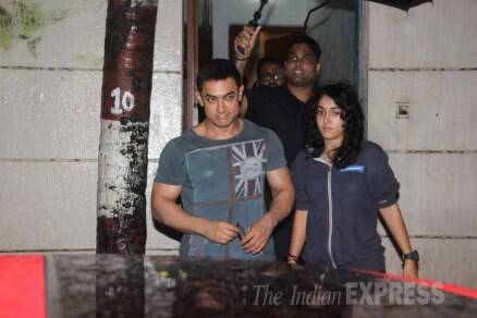 Family time for stars! Aamir steps out with daughter Ira, Arjun with his sister