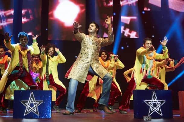 SRK, Deepika, Abhishek 'SLAM'ming it up in Houston