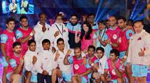 Abhishek Bachchan set to party with Jaipur Pink Panthers