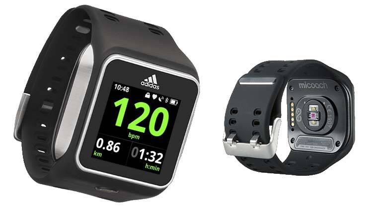 66c1f504b8c Adidas unveils  miCoach Smart Run  smartwatch at Rs 24