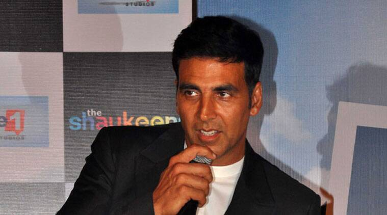 Superstar Akshay Kumar, who is doing a cameo in his upcoming production venture 'The Shaukeens', says he found it very different to play an alcoholic in the comedy drama. - See more at: https://indianexpress.com/article/entertainment/bollywood/playing-alcoholic-in-the-shaukeens-was-a-bit-different-akshay-kumar/#sthash.SM7fgdf0.dpuf