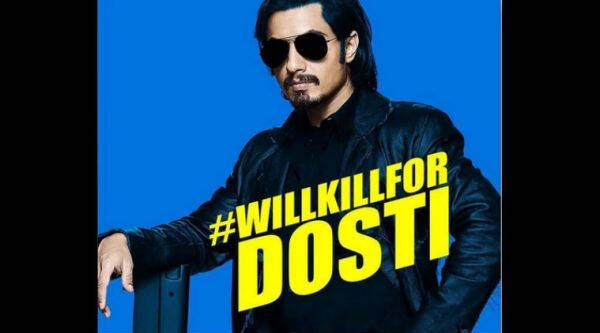 The poster carries the caption, #WILLKILLFORDOSTI
