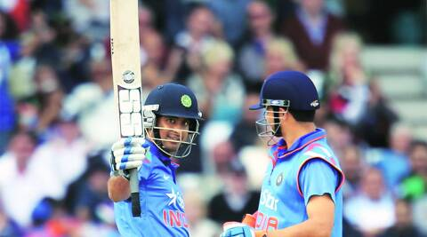 Ambati Rayudu provided solidity for India in the middle order. (Source: Express file photo)