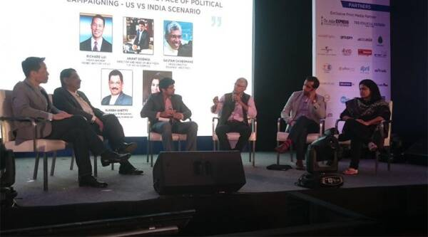 The panel was moderated by Indian Express New Media head Anant Goenka.