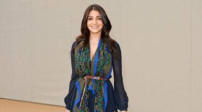 Anushka Sharma graces Burberry show