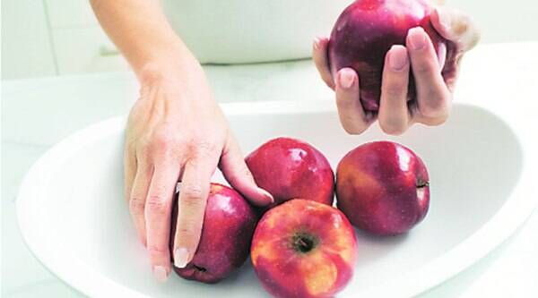 Tannins are also astringent in nature which may be the reason why cooked apples help in diarrhoea management.