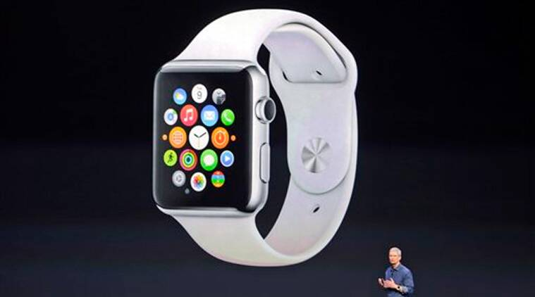 Apple CEO Tim Cook introduces the new Apple Watch. Apple's new wearable device marks the company's first major entry in a new product category since the iPad's debut in 2010.