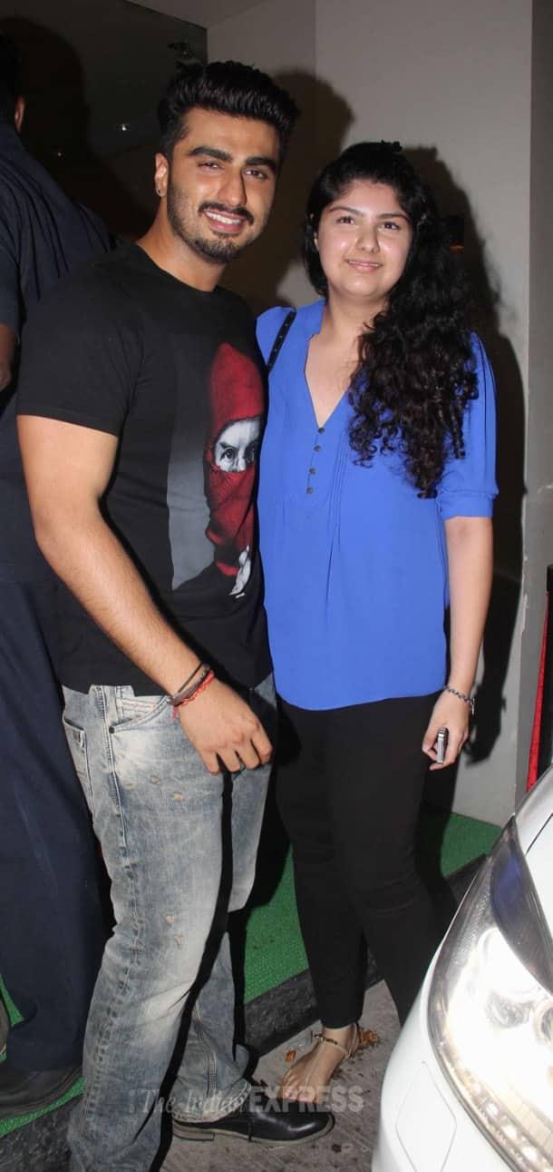 Deepika Padukone, Arjun Kapoor and special guests at 'Finding Fanny' screening