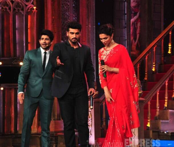 Arjun Kapoor, Deepika Padukone battle it out in badminton