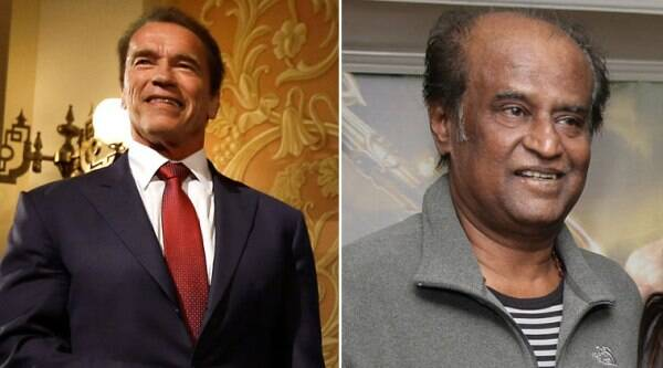 "The audio launch will take place on Monday evening at the Jawaharlal Nehru Indoor Stadium, where the star of the ""Terminator"" film series, will share the dais with superstar Rajinikanth."