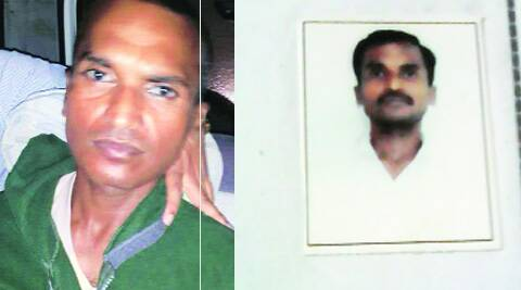 (Left) Police say Bhelke changed his appearance. (Right) His photograph that is on police record.