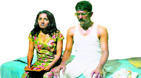 Tannishtha Chatterjee and Adil Hussain in Arunoday