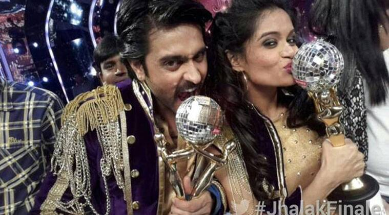 """In the finale episode of """"Jhalak"""", the actor was pitted against Mouni Roy, Shakti Mohan and Karan Tacker. (Source: Twitter)"""