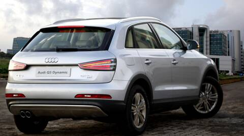 Audi Q Dynamic Launches At Rs Lakh The Indian Express - Audi car q3 price in india