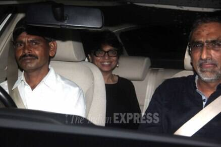 Priyanka Chopra watches Mary Kom with producer, director