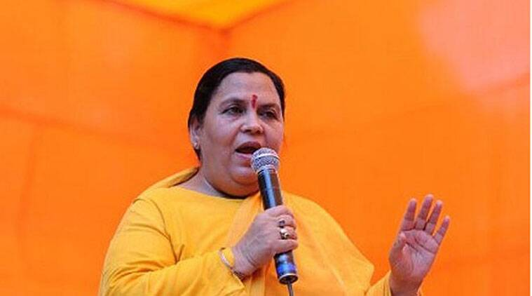 Uma Bharti said Sanskrit could, in course of time, replace English as a link language which everyone in India would understand.