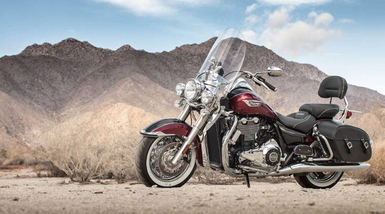 The Thunderbird LT will be the third full-sized cruiser motorcycle in Triumph's line-up here in India.