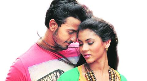 Bonny Sengupta and Ritika Sen in a still from Borbaad