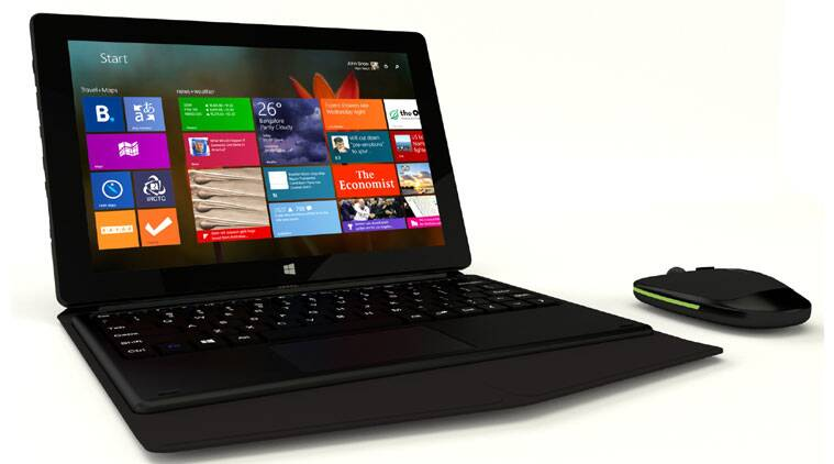 The device comes with preloaded business apps like Office with free one-year subscription and Outlook as well as a wireless keyboard and mouse combo.